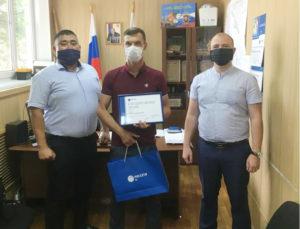 Астраханский энергетик спас тонущего ребенка