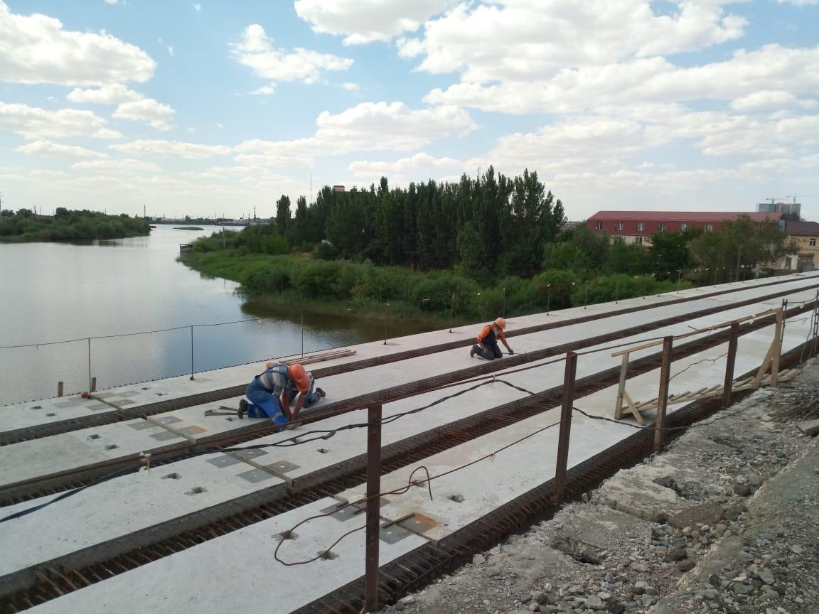 Работы на мосту через Царев могут приостановиться из-за смены подрядчика