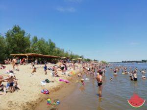 В Астрахани официально открылся купальный сезон