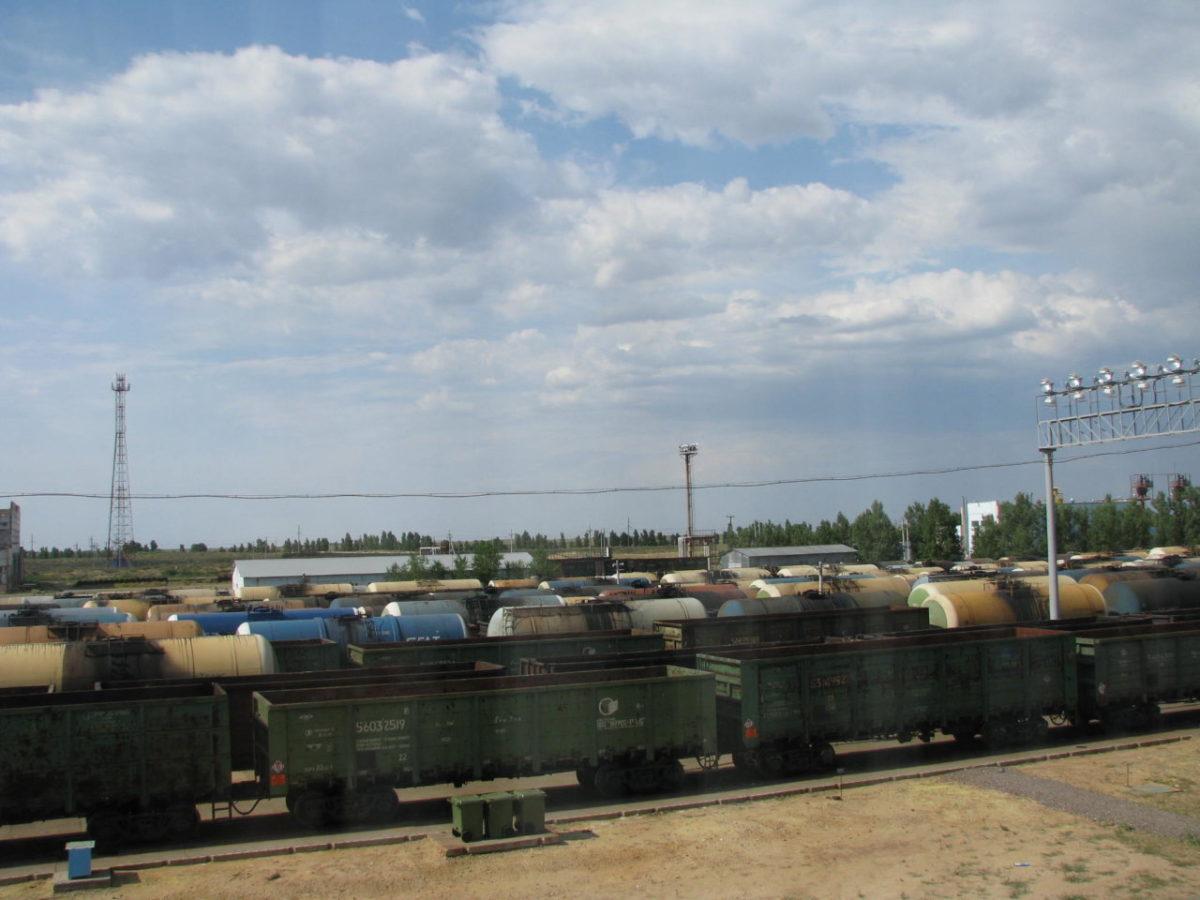 Погрузка на Приволжской железной дороге составила около 600 тыс. тонн в июне