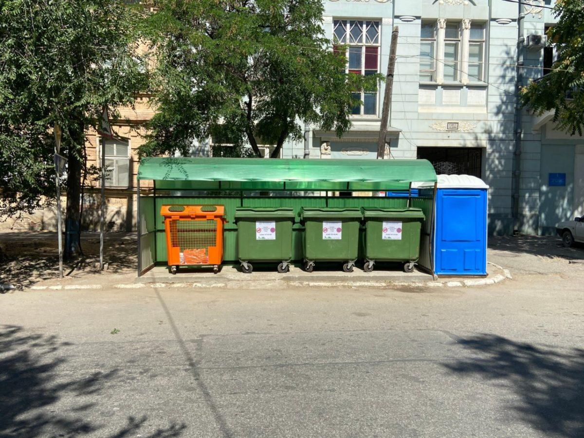 Регоператор «ЭкоЦентр» напоминает: контейнеры предназначены только для накопления твердых отходов