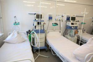 В астраханских госпиталях развернули дополнительные койки для пациентов с ковидом