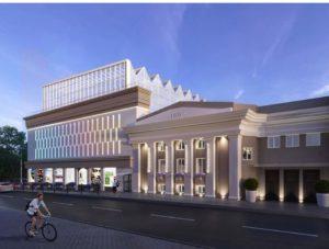 Как будет выглядеть кинотеатр «Октябрь» после реконструкции