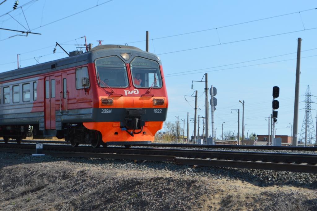Пригородная электричка будет останавливаться на платформе 1509 км