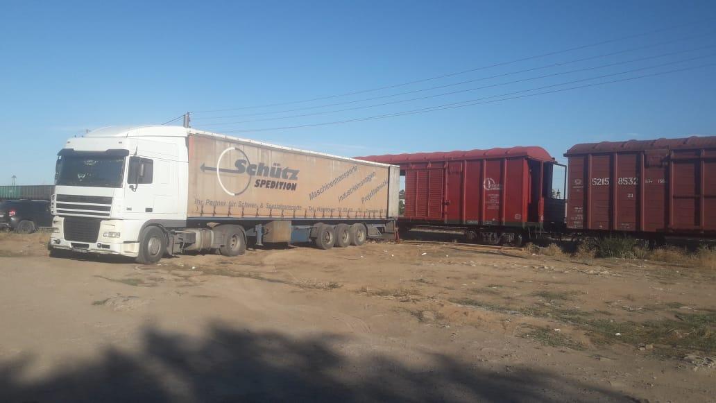 Первые вагоны с луком отправились со станции Ахтуба Астраханского региона ПривЖД