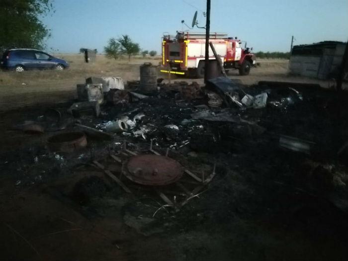 Молодая девушка погибла на пожаре в Астраханской области