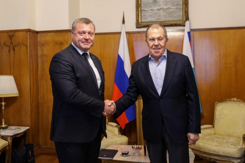 Игорь Бабушкин поделился с Лавровым амбициозными планами