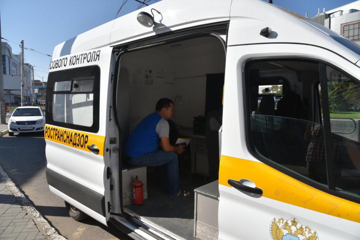 В Астрахани проверили работу общественного транспорта