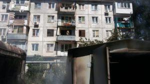 Пожар от взрыва газового балона в Астрахани потушен