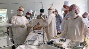 В Астраханской области провели первую операцию по установке перитонеального катетера