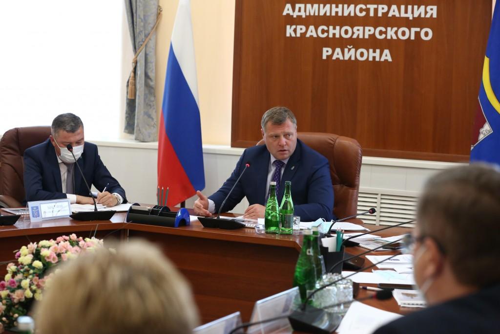 Красноярский район сделает ставку на сельское хозяйство и инвестиции