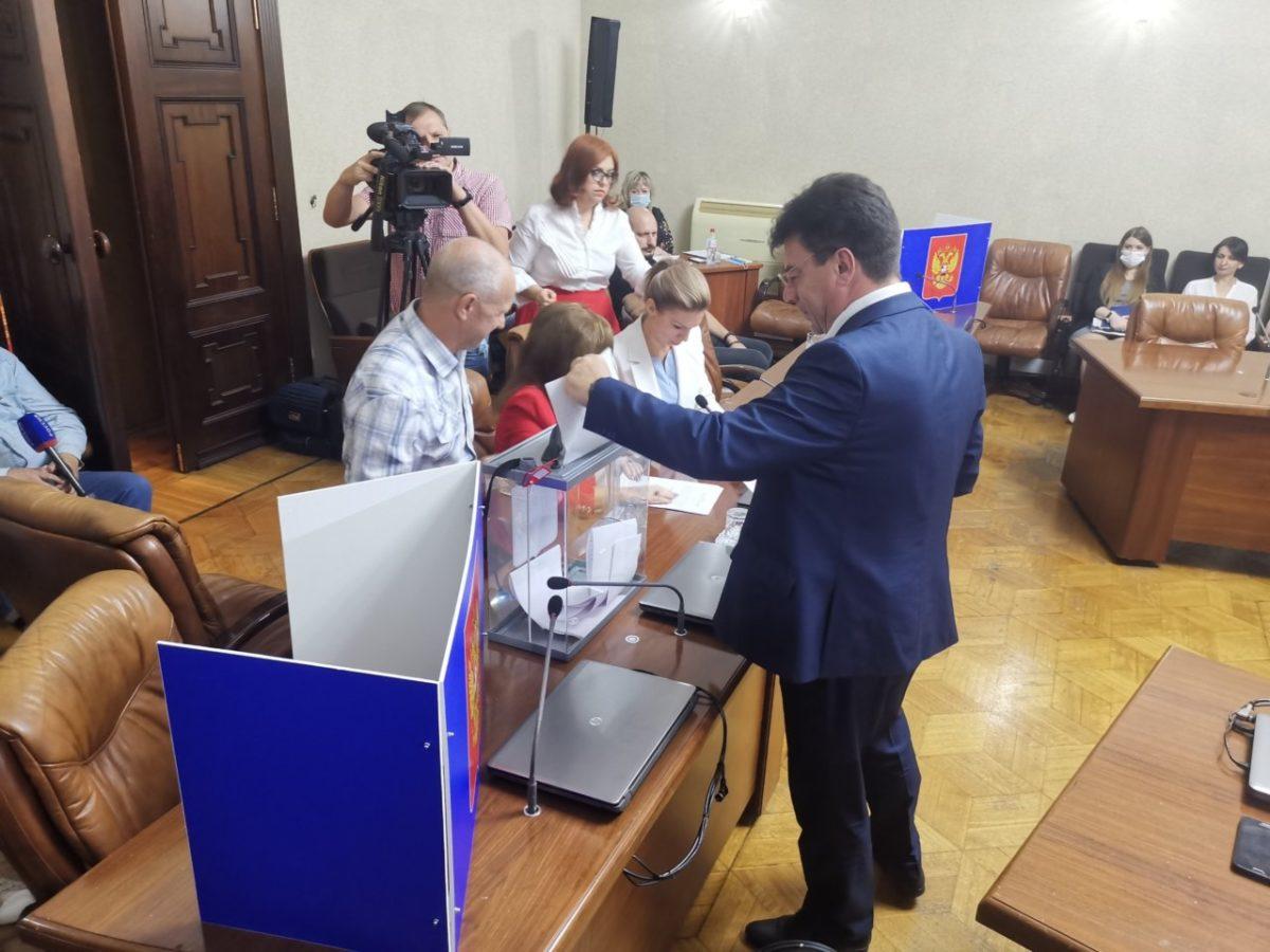 В Астрахани единогласно выбрали руководителя регионального избиркома