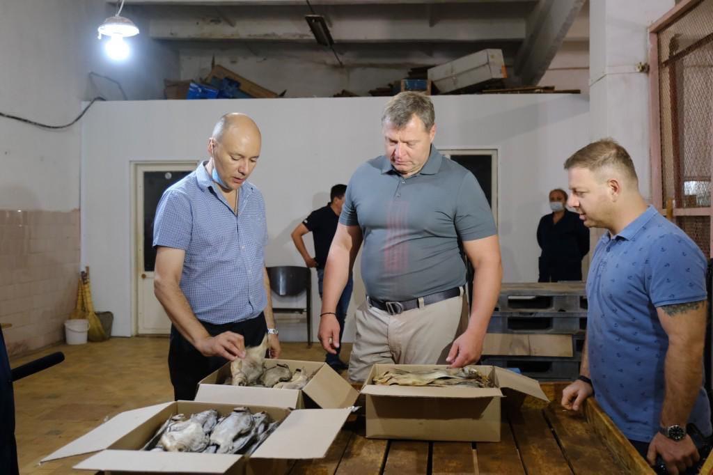 Игорь Бабушкин посетил «Холодильник Володарский»