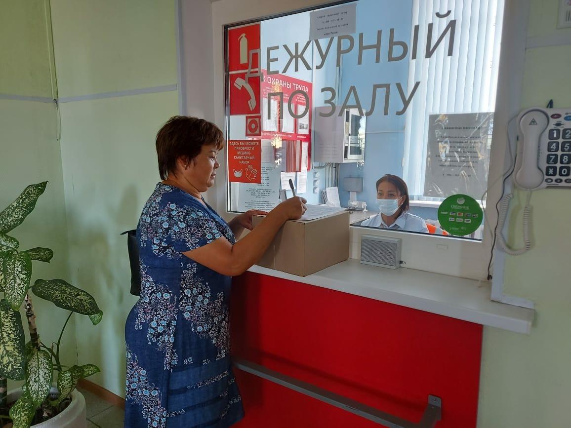Возможность принять и отправить посылку в другой регион появилась на железнодорожном вокзале Верхнего Баскунчака