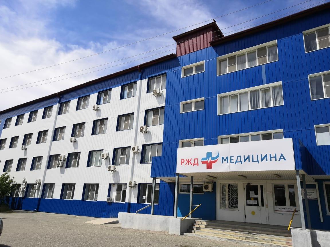 В клинической больнице «РЖД-Медицина» в Астрахани проводится вакцинация от COVID-19