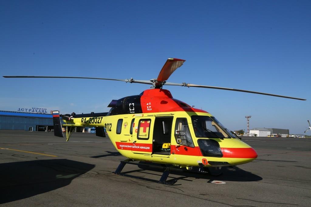 8-месячной астраханке спасли жизнь благодаря вертолету