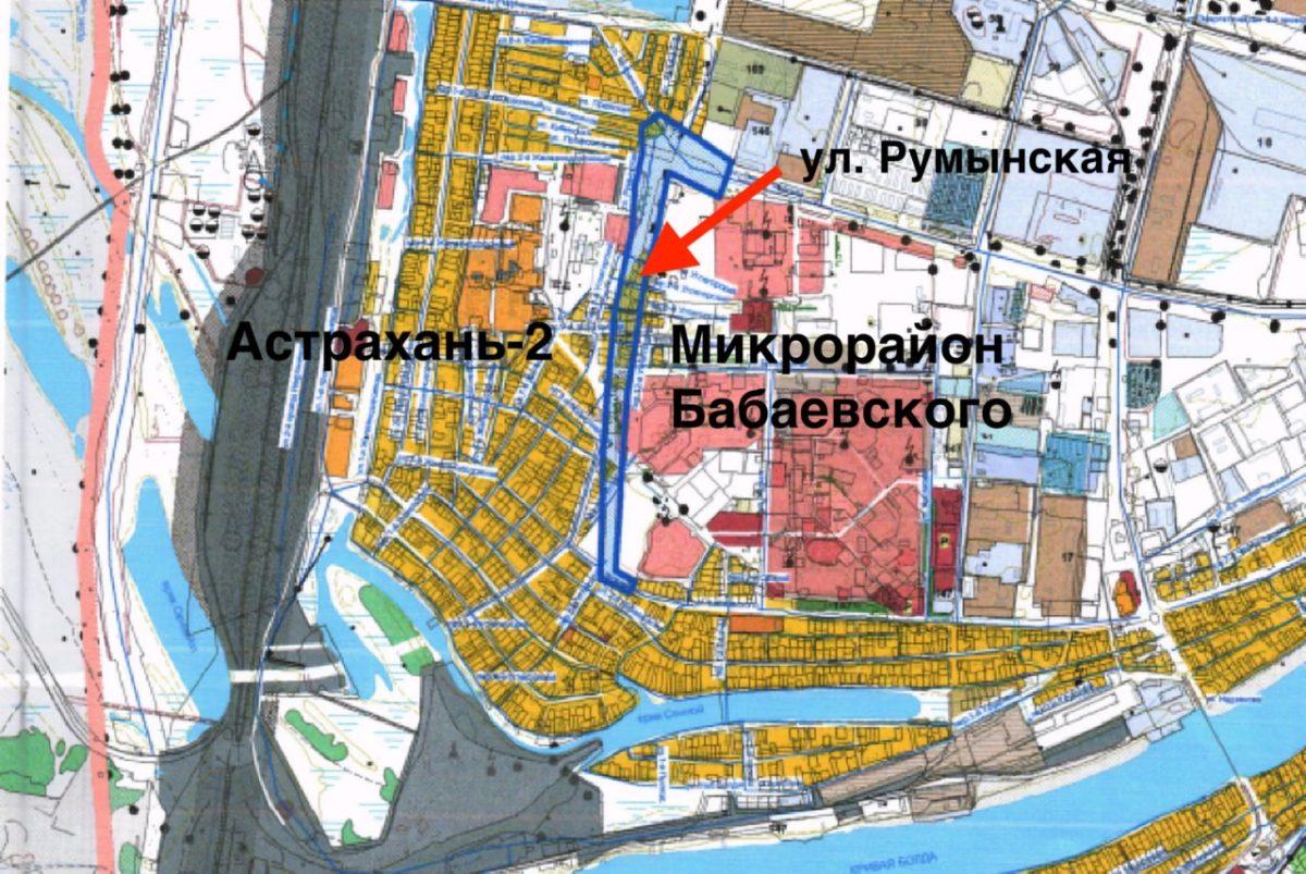 В микрорайоне Бабаевского собираются строить новую дорогу