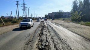В администрации Астрахани рассказали подробности ремонта Фунтовского шоссе
