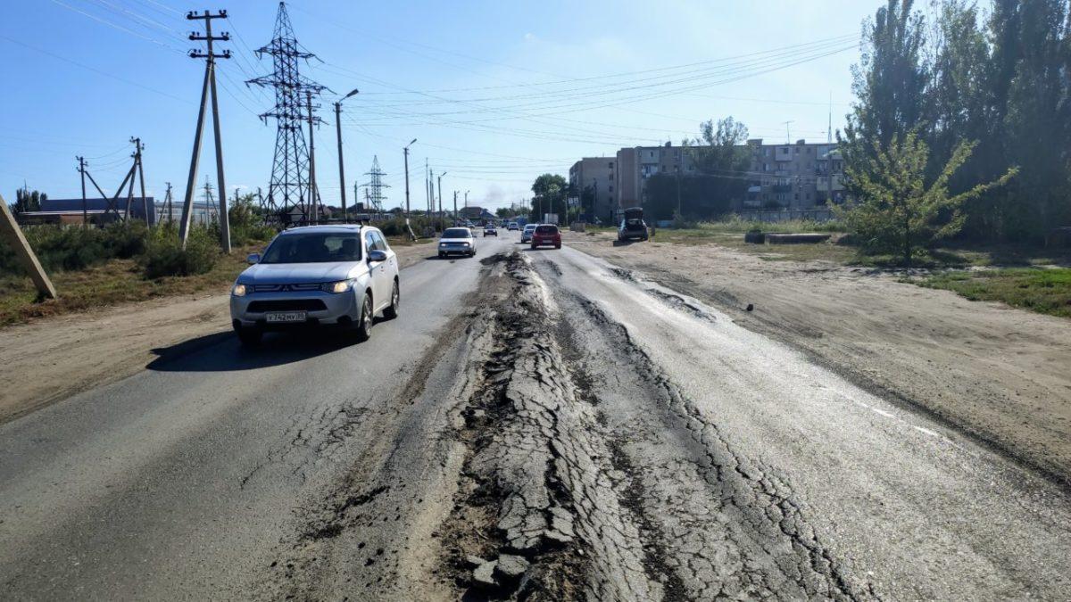 Колею на асфальте Фунтовского шоссе заделают в 2024 году