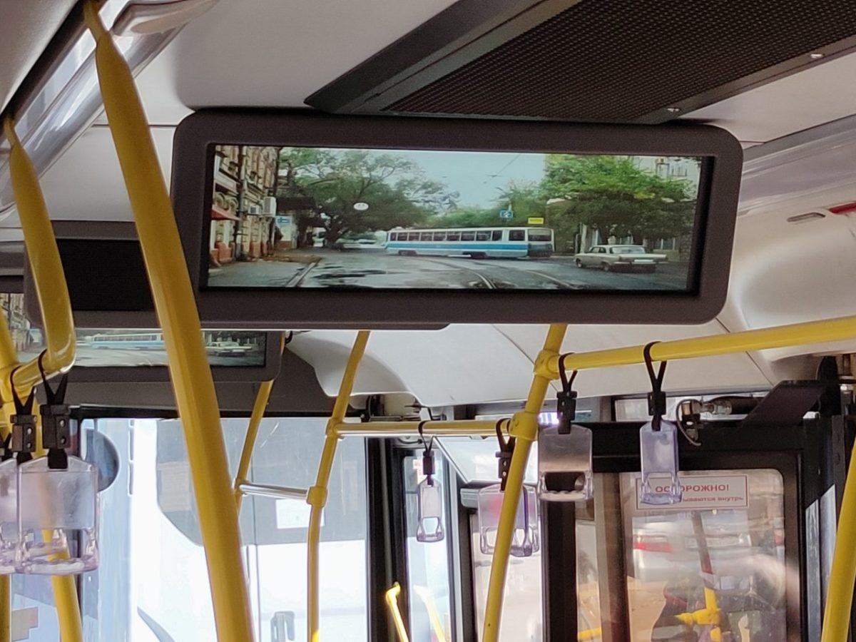 Астраханским пассажирам показывают фотографии трамваев и троллейбусов