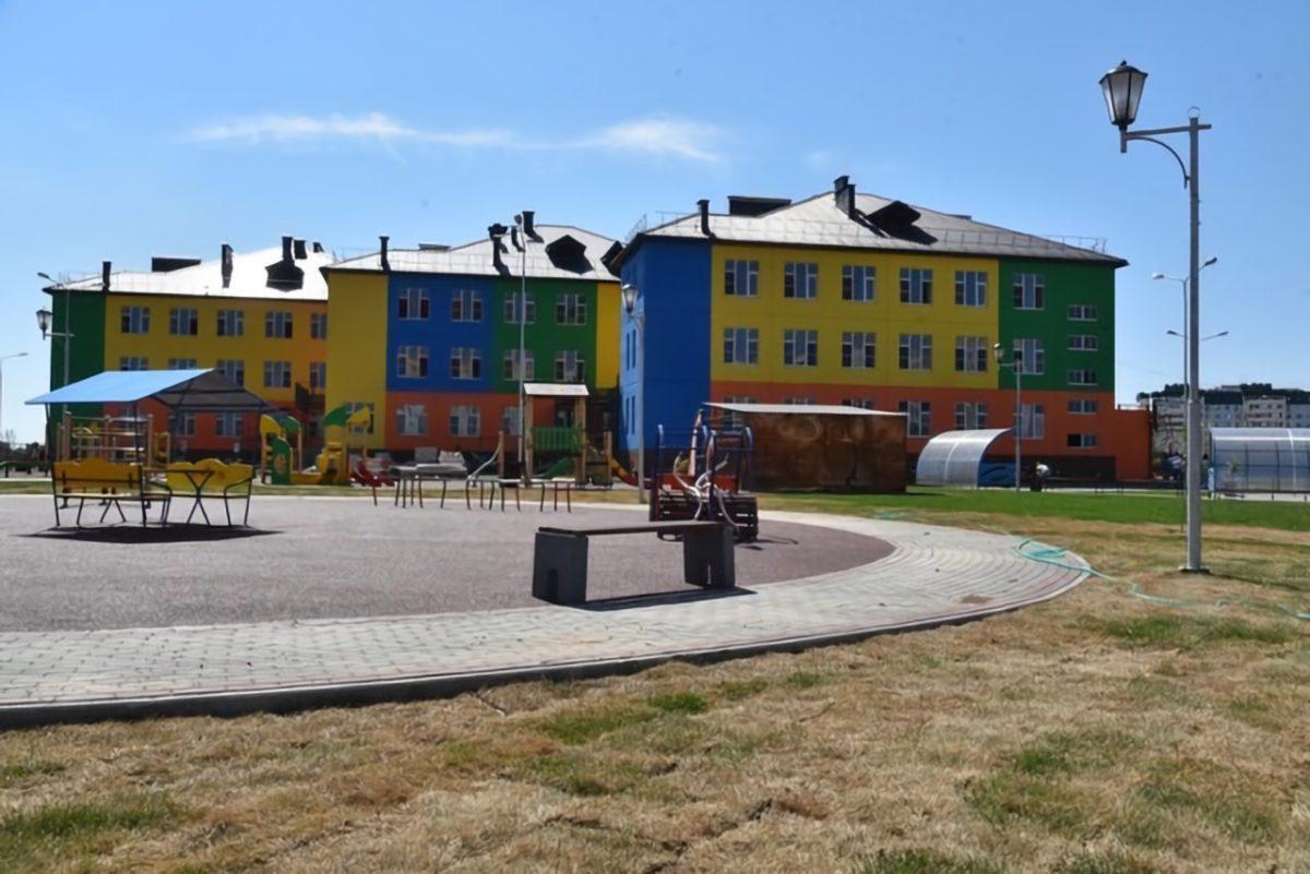В Военном городке достраивают новый детский сад