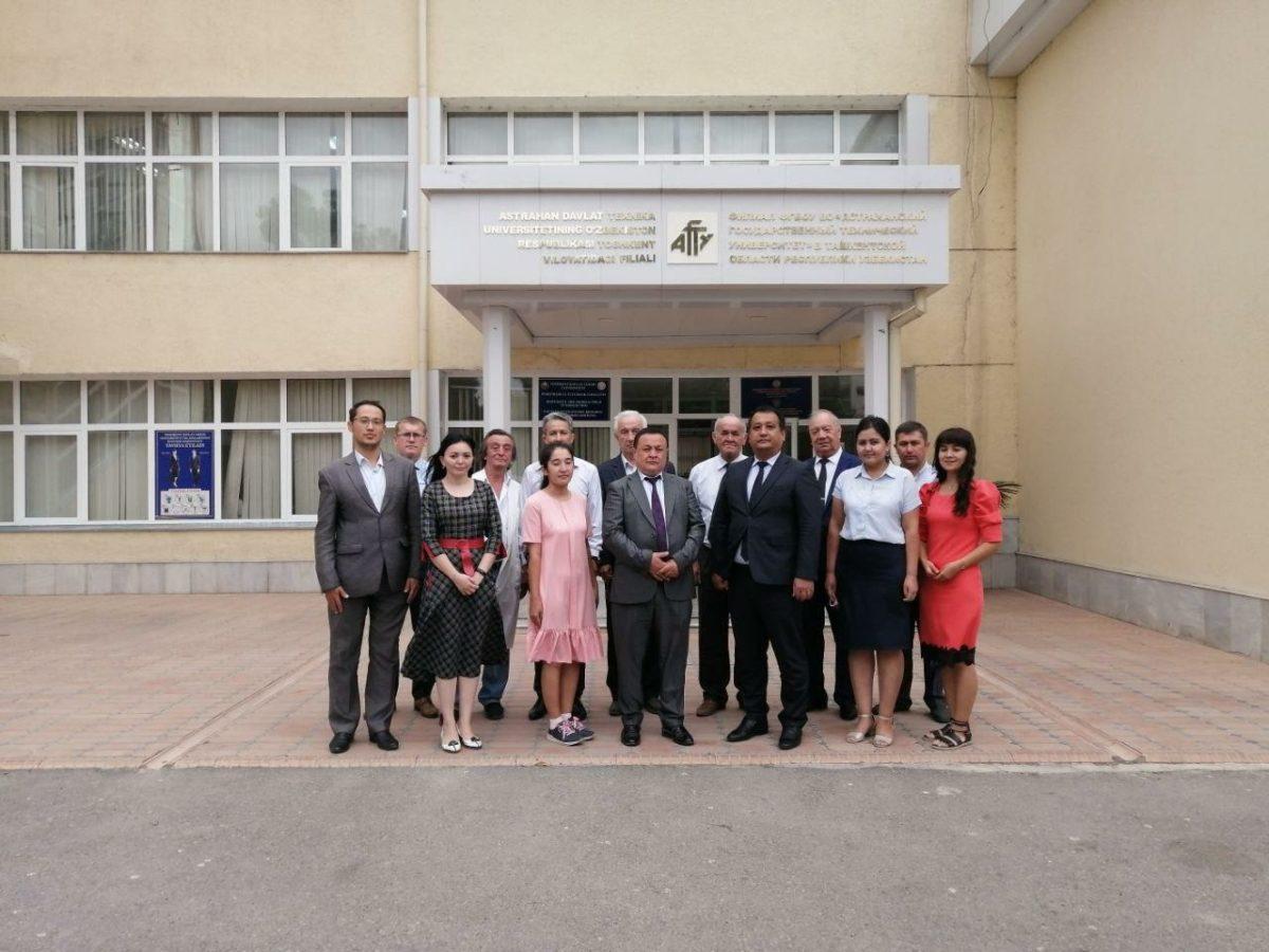 В филиале АГТУ в Узбекистане идет прием абитуриентов