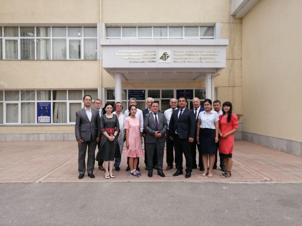 В Узбекистане открылся филиал АГТУ