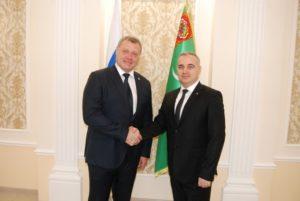 Послы прикаспийских стран поддержали инициативы Игоря Бабушкина