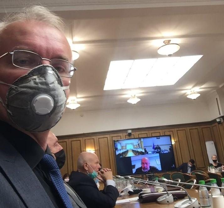 Олег Шеин рассказал федеральному министру об астраханских свалках