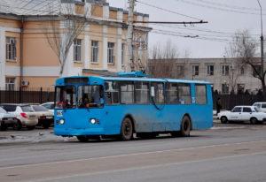 Три года назад в Астрахани прекратили работать троллейбусы