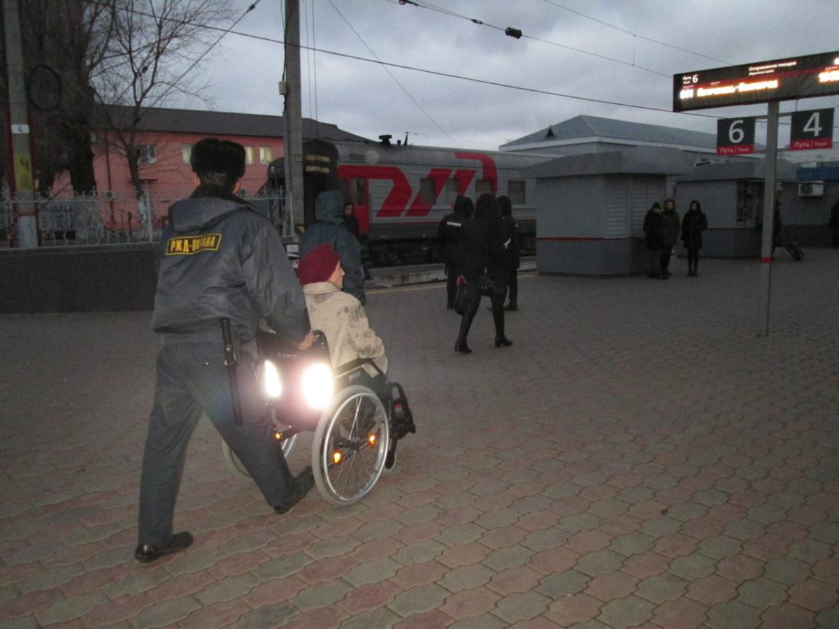 Более 640 маломобильных граждан воспользовались услугами сопровождения на вокзалах Астраханского региона ПривЖД с начала 2020 года