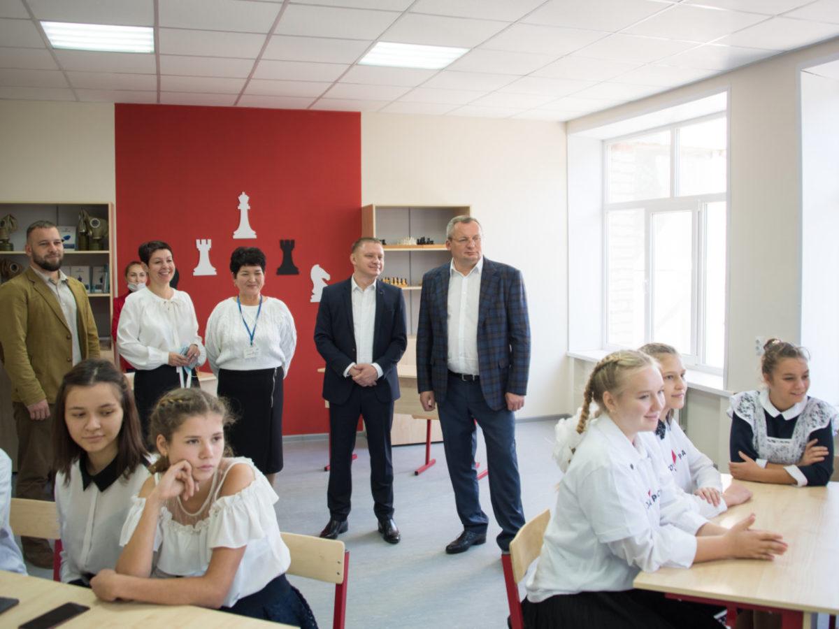 В школе села Иванчуг открылась «Точка роста»