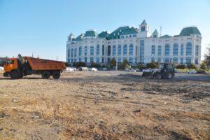 На месте снесенных домов возле Театра оперы и балета будет парковка