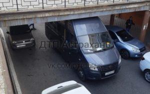 Астраханский мост взял «в заложники» очередную «Газель»