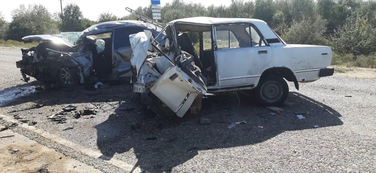 Три человека погибли в ДТП в Володарском районе Астраханской области