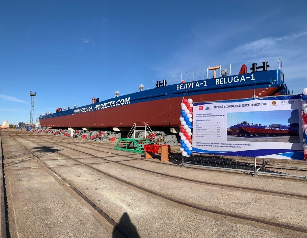 Завод «Красные Баррикады» построил первое судно после банкротства