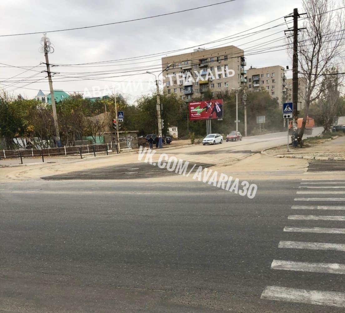 В Астрахани восстановлено движение по улице Савушкина