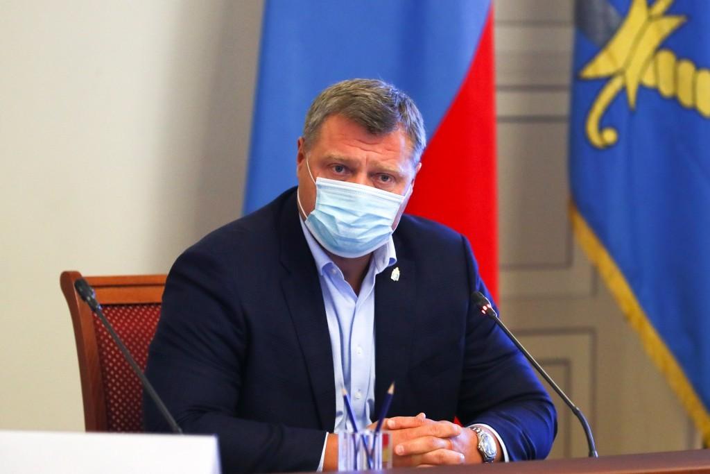 Игорь Бабушкин поблагодарил астраханцев за ответственность