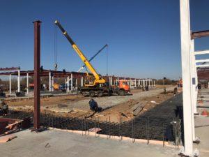В Астраханской области работы по строительству новых госпиталей идут по плану