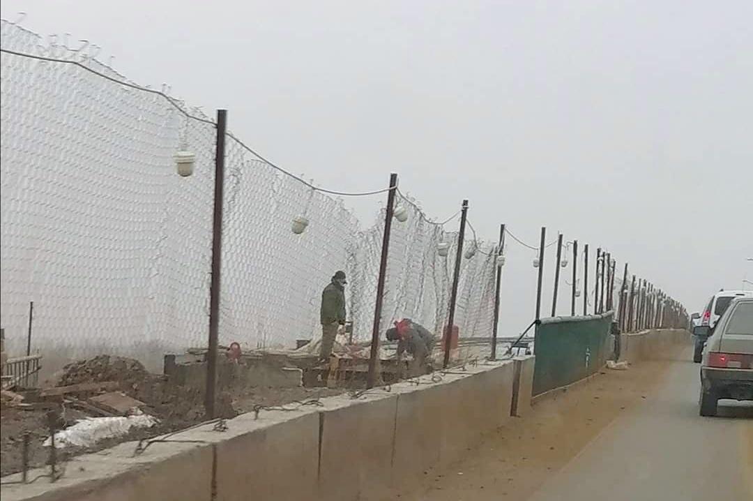 Мост через Белый Ильмень снова не успели открыть в срок