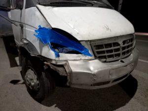 В Астраханской области водитель сбил человека и не заметил