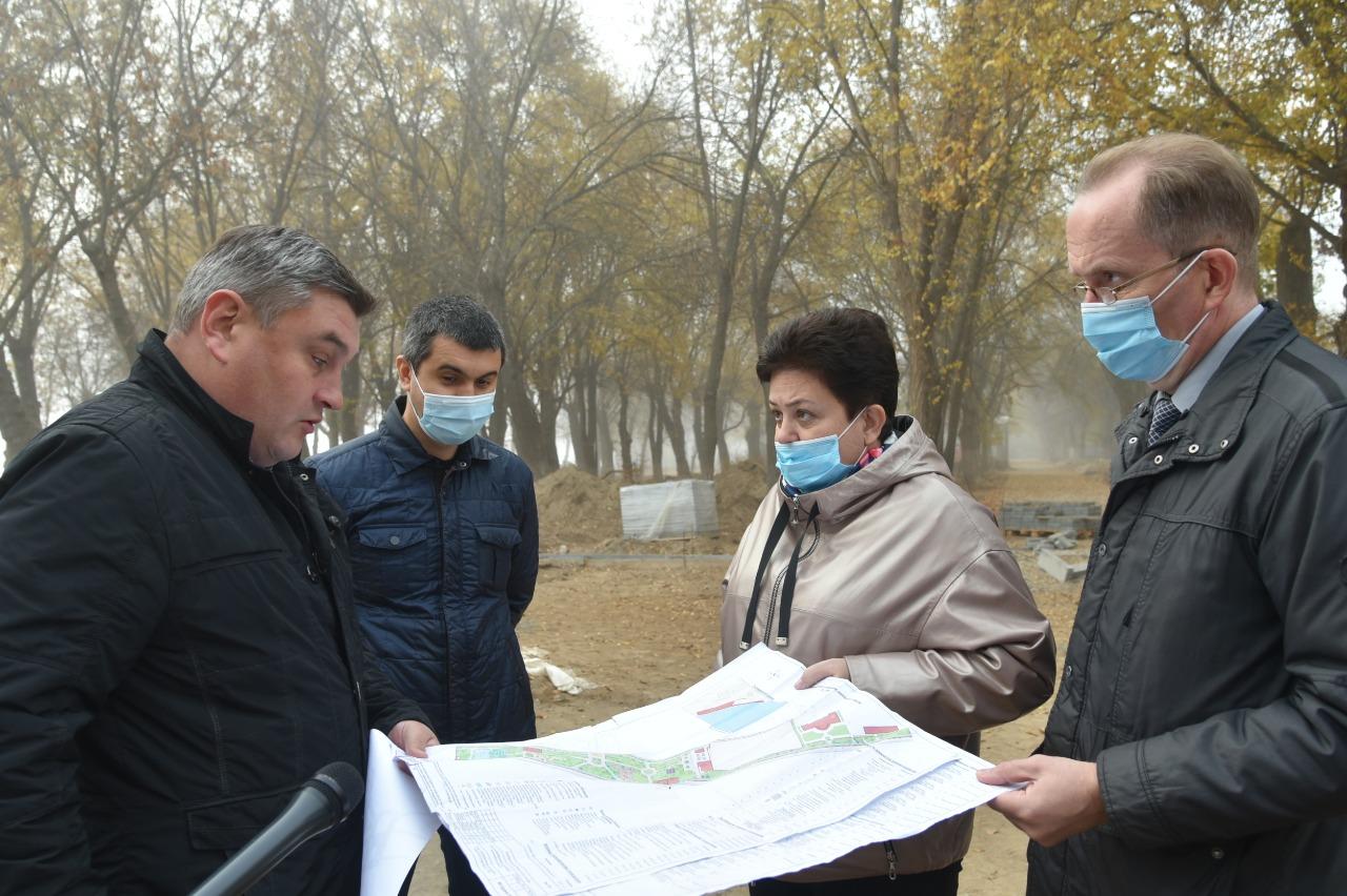 Мария Пермякова осталась недовольна реконструкцией парка на Десятке