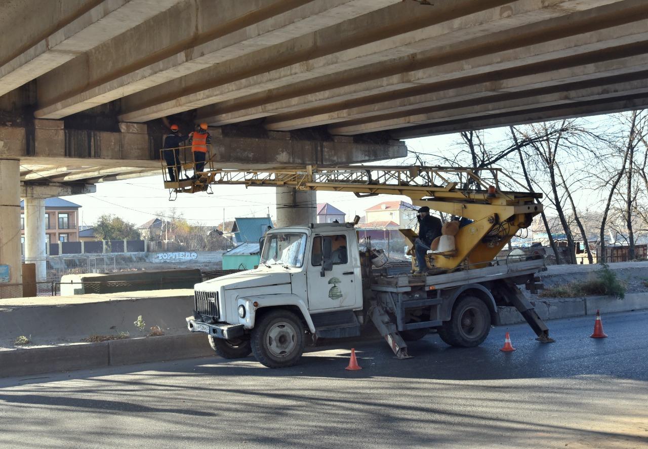 Аэропортовский мост начали готовить к срочному ремонту