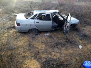 Молодой астраханец серьезно пострадал в ДТП на трассе Р-22