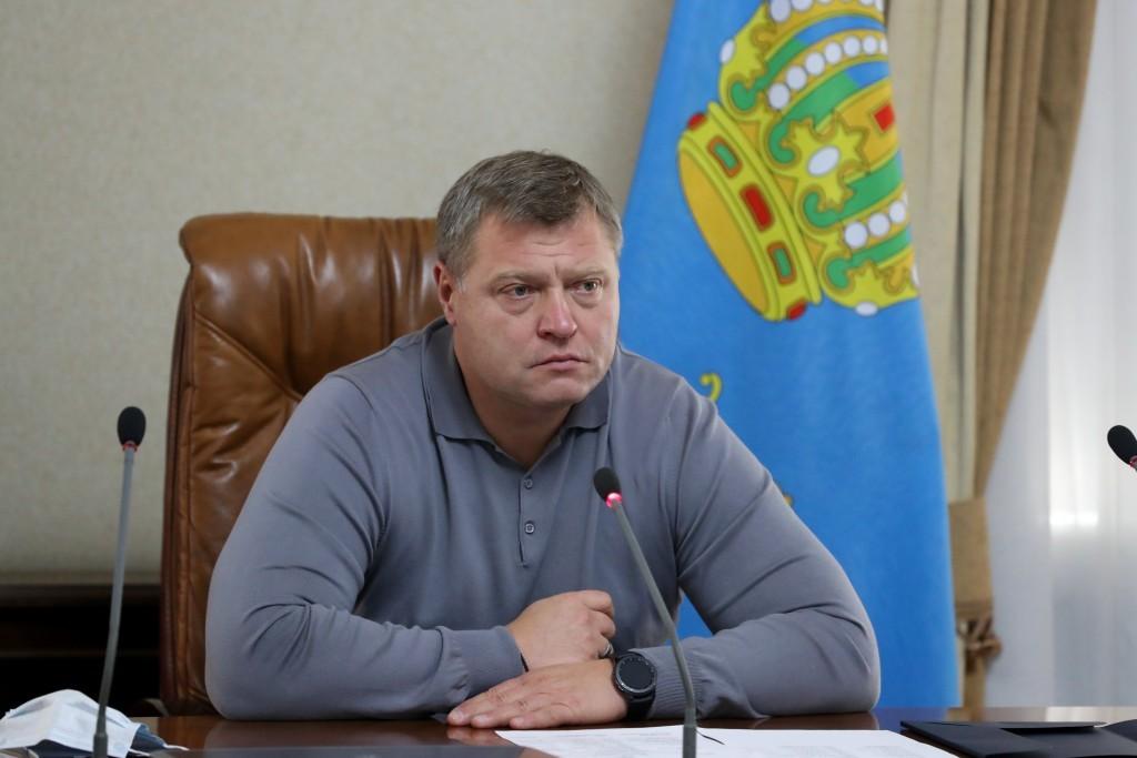 Астраханский губернатор готов выйти на связь с президентом вместе с министрами