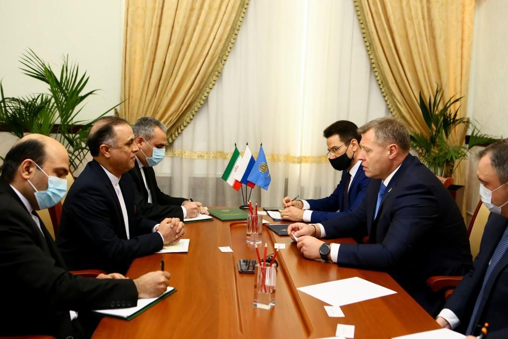 Иранскому бизнесу предложили участие в проектах Каспийского кластера