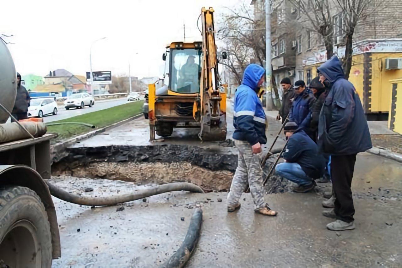 В Астрахани нужно ежегодно перекладывать 80 километров водопровода