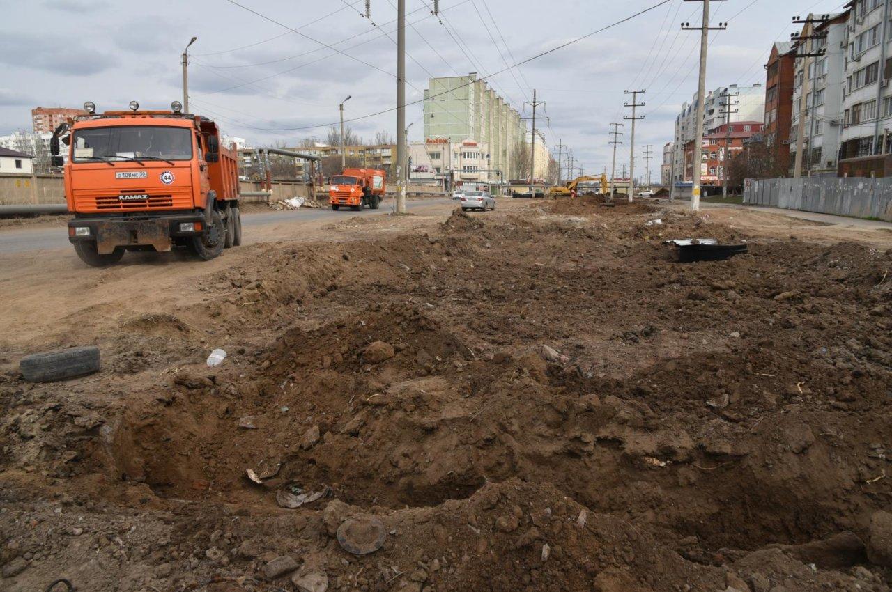 При ремонте улицы Куликова обнаружились неожиданные проблемы