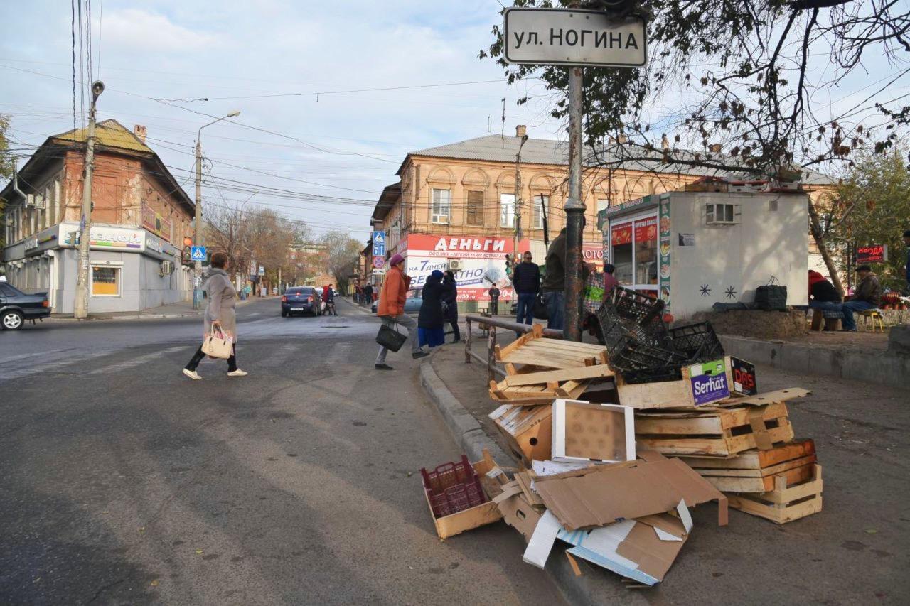 Городские власти продолжают бороться с мусором на Больших Исадах