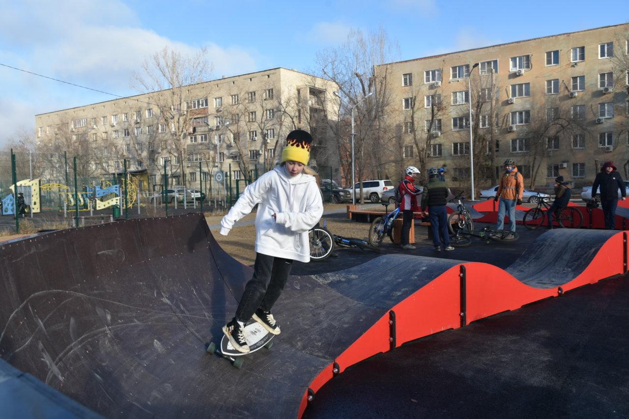 В Астрахани при поддержке ЛУКОЙЛА открыли новый скейт-парк